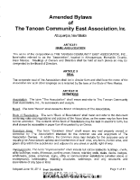 Bylaws – Tanoan East