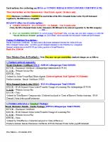 NM-Ordering Disclosure Certificates