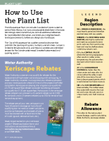 Xeriscape Plant List